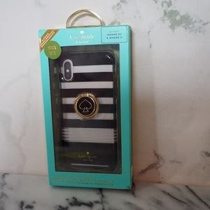 Kate Spade New York iPhone XS, X Case w/ Ring Stan